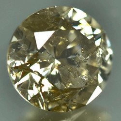 Natural Unheat Yellow Diamond 0.53 carat