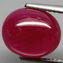 Permata Ruby Mozambique Oval 6.3ct
