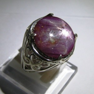 Cincin Ruby Star 11.45 cts Ring 8US