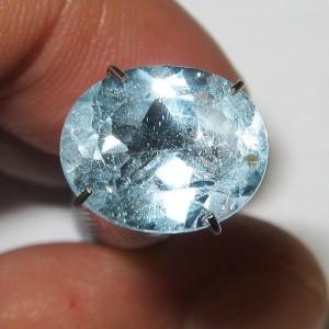Blue Topaz Oval 4.05 carat