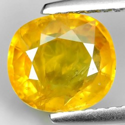 Natural Thailand Yellow Sapphire 2.32ct