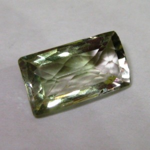 Buff Top Green Amethyst 5 carat