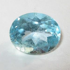 Light Blue Topaz 4.4 carat Batu Permata Brazil