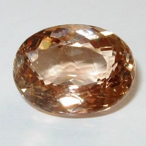 Batu Permata Champagne Topaz 13.3 carat