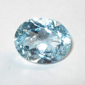 Batu Permata Natural Light Blue Topaz 3.58 carat