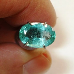 Natural Emerald Oval 1.34 carat