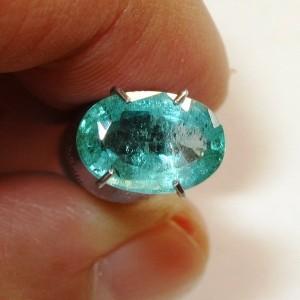Natural Emerald Oval 1.34 carat