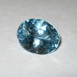 Light Blue Topaz 3.2 carat Permata Bagus dari Brazil