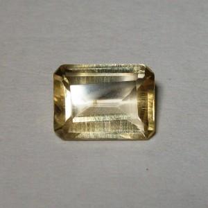 Natural Rectangular Citrine 1.20 carat