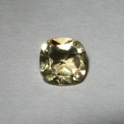 Natural Citrine Cushion 0.9 carat