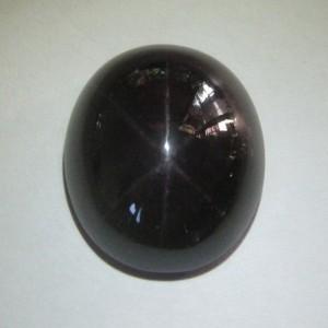 Batu Mulia Dark Red Star Garnet 34.71 carat untuk Penggemar