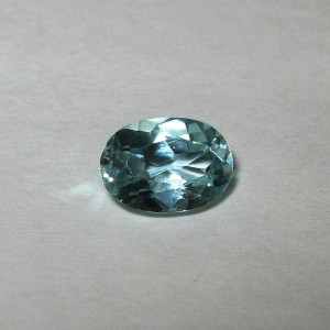 Light Blue Topaz Oval 1.10 carat