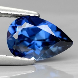 1.8ct Pear Kashmir Blue Sapphire Madagascar