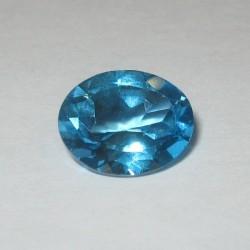 Swiss Blue Topaz 2.66 carat Asli dan Berkualitas Bagus