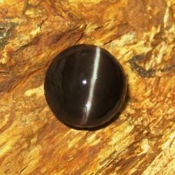 Batu Mulia Cat Eye Spectrolite 13.24cts Bundar Bulat