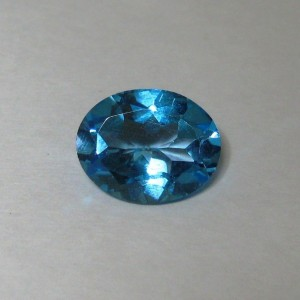 Batu Mulia Topaz Swiss Blue 2.76cts Kualitas Bagus