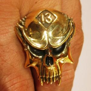 Death Skull Ring 13
