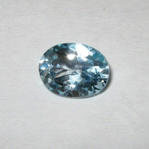 Permata Light Blue Topaz 1.95 carat Murah Tapi Asli