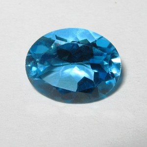 Natural Topaz Swiss Blue 2.78 carat