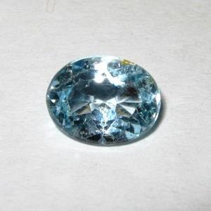 Batu Permata Light Blue Topaz 2.00 carat