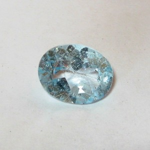 Batu Permata Light Blue Topaz 2.45 carat Educational Price!