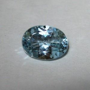 Permata Natural Light Blue Topaz 1.50 carat