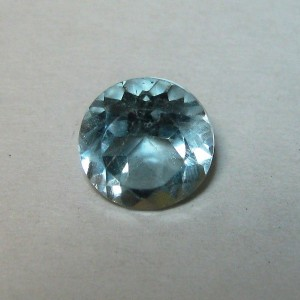 Round Light Blue Topaz 1.20 carat