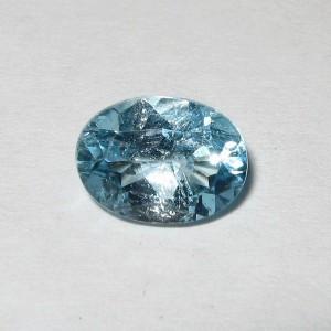 Batu Permata Natural Light Blue Topaz 1.50 carat