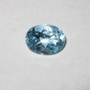 Light Blue Topaz 1.60 carat untuk cincin silver bercahaya