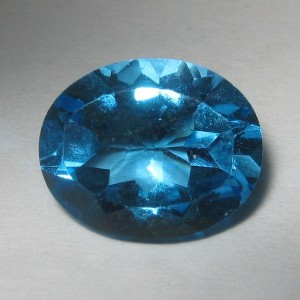 Swiss Blue Topaz 2.90 cts Natural