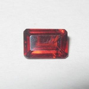 Garnet Merah Rectangular 0.75 carat