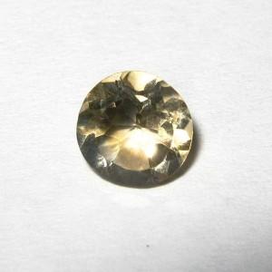 Batu Permata Round Citrine 0.80 carat