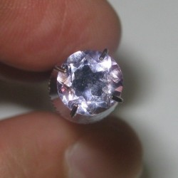 Round Violet Amethyst 0.85 cts