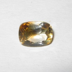 Cushion Yellow Citrine 1 cts
