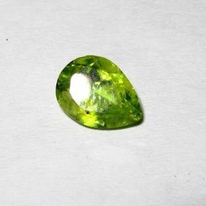 Pear Shape Peridot 1.30 carat