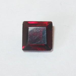 Permata Garnet Kotak 1.25 carat untuk Cincin