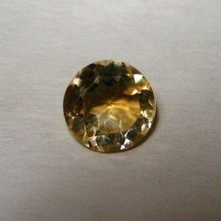 Citrine 0.60 carat Round