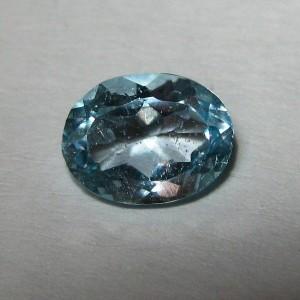 Sky Blue Topaz Oval 1.35 carat