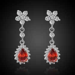 Anting Gold Filled Model Garnet