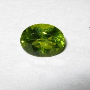 Oval Green Peridot 1.05 carat