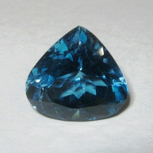 Pear London Blue Topaz 4.54 carat