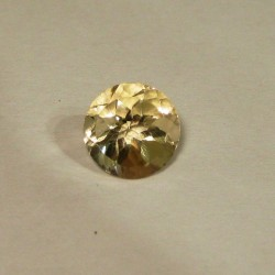 Light Yellow Citrine 2.80 carat Round Cut