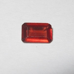 Garnet Merah Rectanguler 0.55cts