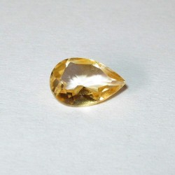 Citrine 0.80 carat Pear Shape