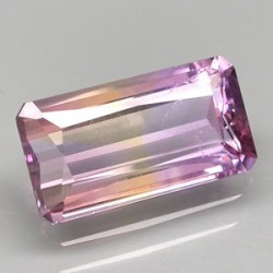 Natural Ametrine 5.20 carat Rectangular