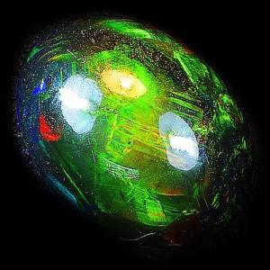Black Opal Welo 2.48 carat
