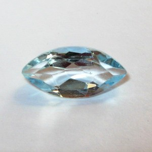 Batu Blue Topaz 2.05 carat Bentuk Marquise Shape