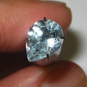 Pear Shape Light Blue Topaz 1.9cts
