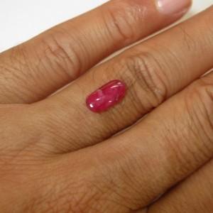 Pinkish Red Ruby 2.05 carat