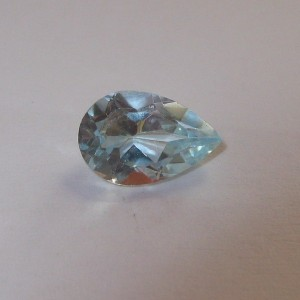 Pear Shape Blue Topaz 1.60 carat